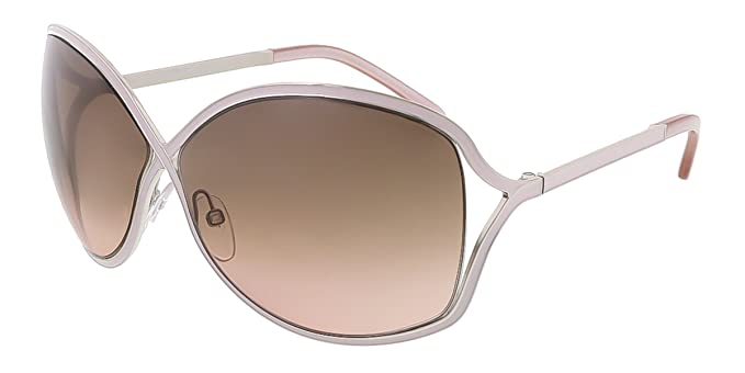 Tom Ford Gafas de sol FT0179/S 72 F Rickie LILA/plata oval ...