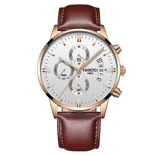 6. NIBOSI Watches Men Sport Quartz Watches