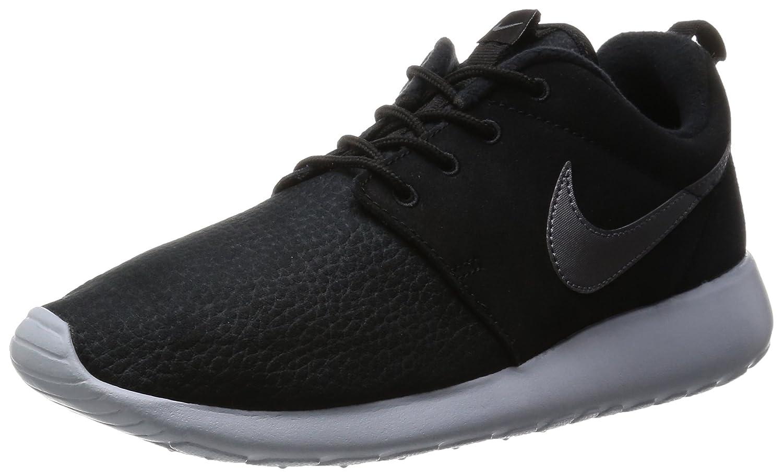 Nike Roshe One Suede - Calzado Deportivo para Hombre 42.5 EU|Negro / Gris (Black / Mtlc Dark Grey-wolf Grey)