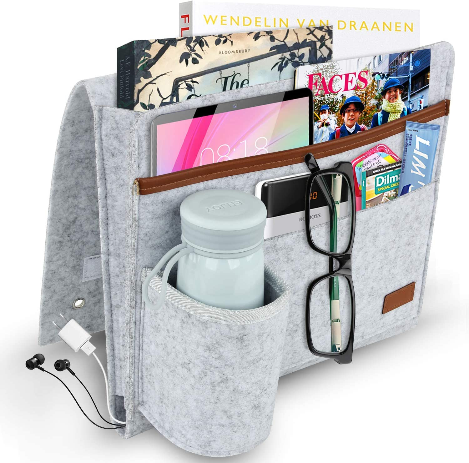 M MUNCASO Bedside Storage Pocket £8.99 @ Amazon