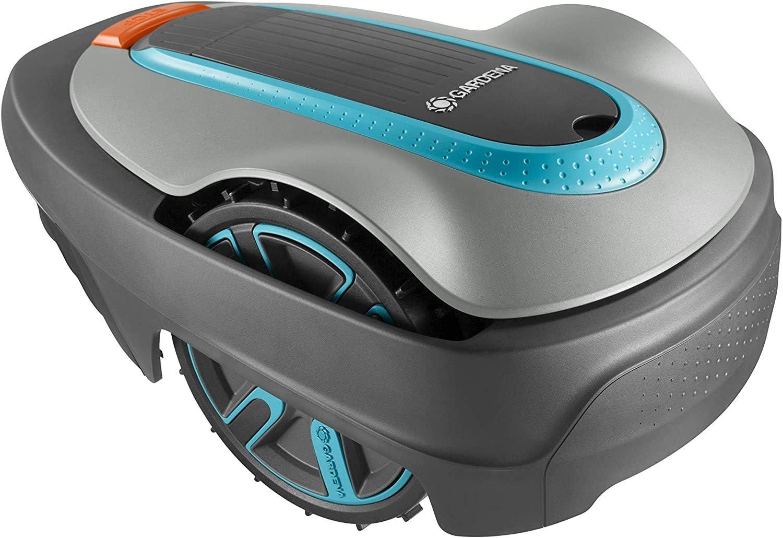 GARDENA SILENO city 300 | Tondeuse Robot jusqu'à 300m² avec Kit entretien - Tond sous la pluie et passages étroits,...