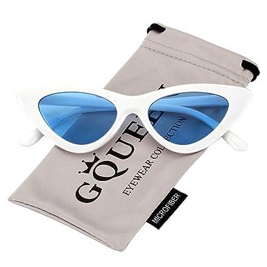 GQUEEN présente les lunettes Vintage au style des yeux de chat, les lunettes offrent une protection contre les rayons UV et ils sont similaires à celles de Kurt Cobain,GQZ7