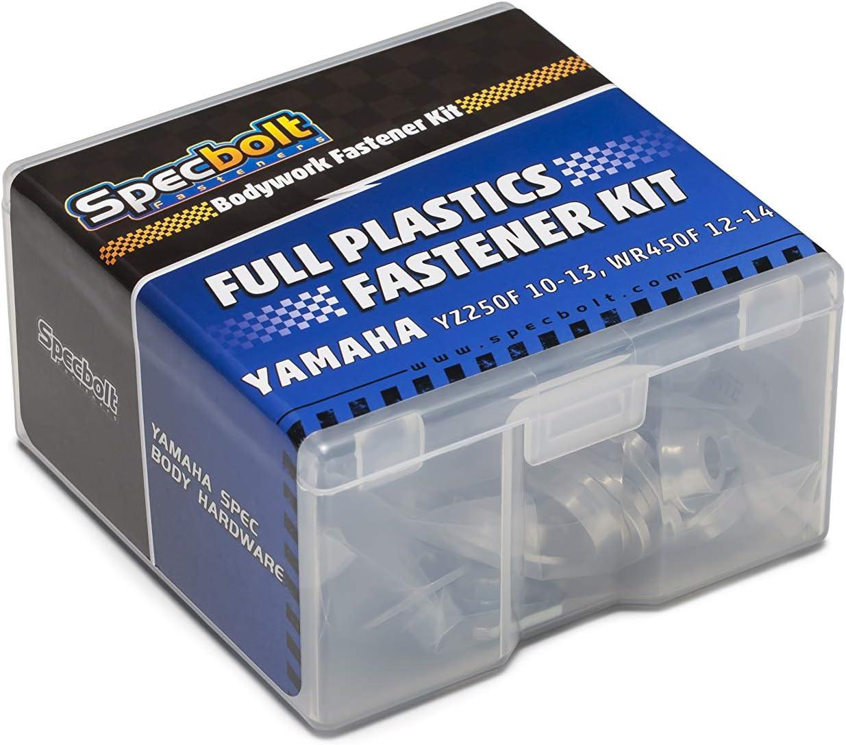 YZ250F Full Plastics Fastener Kit: Yamaha 2010-2013 2012-2014 /& WR450 #1014