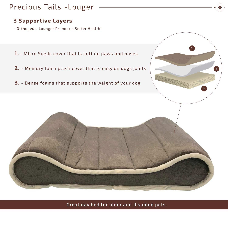 Amazon Restology by Precious Tails Gray Memory Foam