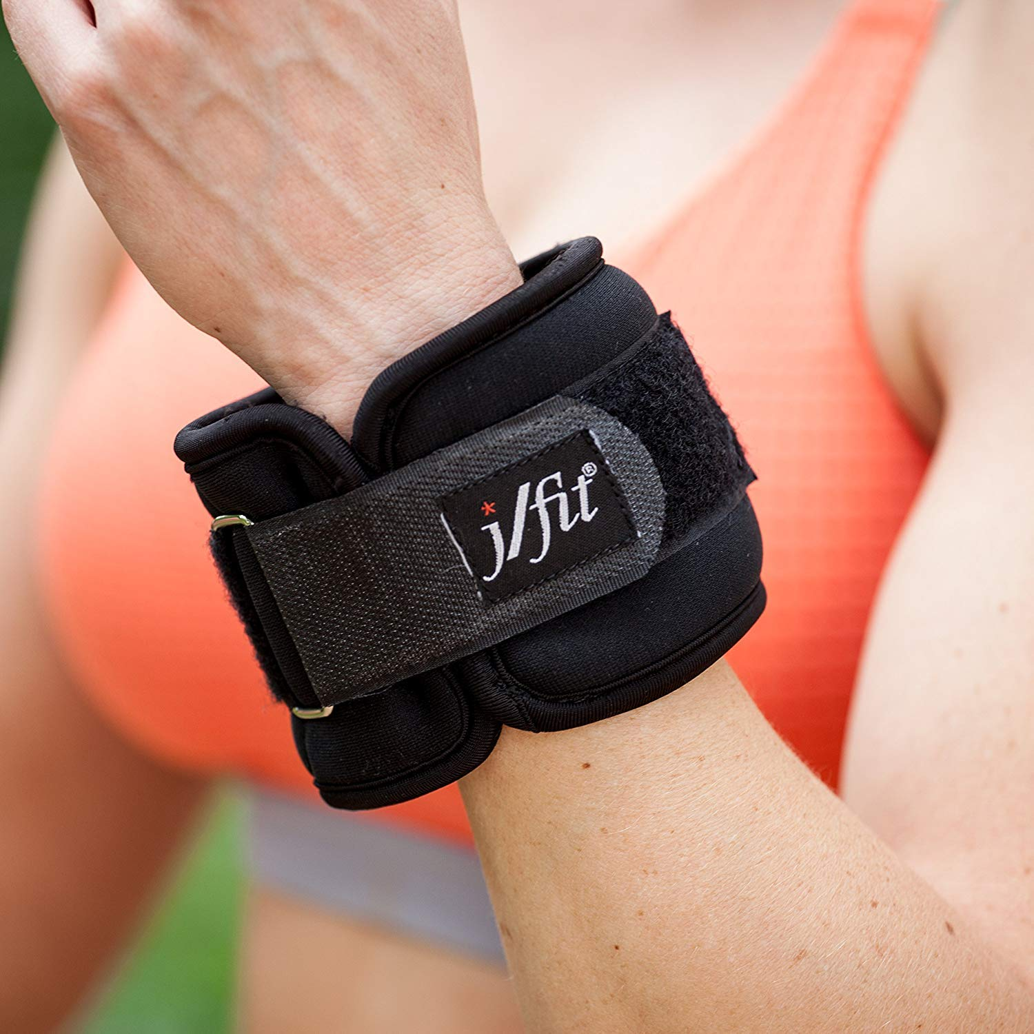 j//fit Adjustable Wrist /& Ankle Weights