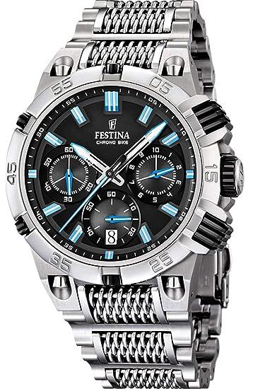 detallado 213e0 249d7 Festina Chrono Bike Relojes Hombre F16774/B: Amazon.es: Relojes