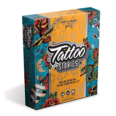 Bicycle Tattoo Stories - A Party Game: Toys & Games