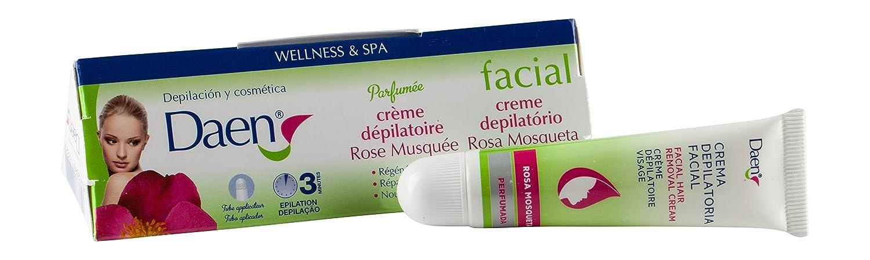Daen Crema Depilatoria Facial, Rosa Mosqueta - 15 ml: Amazon.es: Salud y cuidado personal