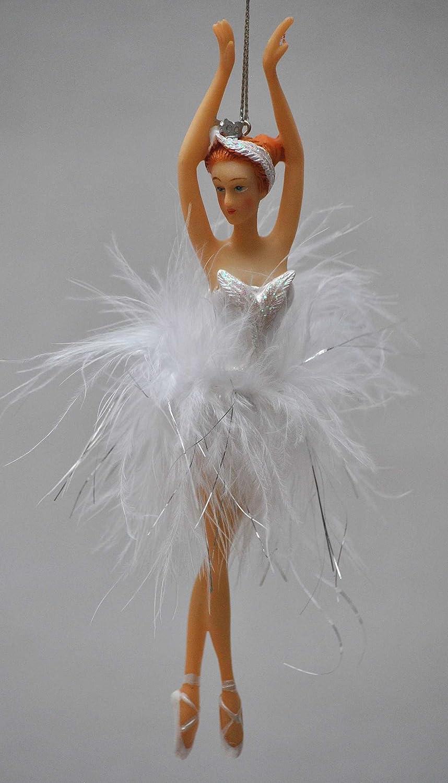 Amazon De Bezaubernde Ballerina Deko Hanger Echte Federn
