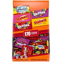 Skittles Starburst And Life Savers Gummies Candy Bag 170-Piece