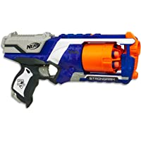 Nerf Elite - Strongarm Blaster inc 6 official Elite Darts  - Kids Toys and Outdoor games - Ages 8+