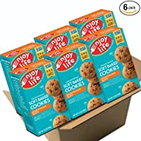 Deal for 6-Box Enjoy Life Soft Baked Cookies Gingerbread Spice for 11.46