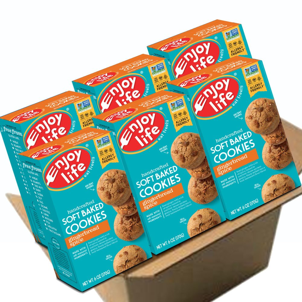 Amazon.com: Enjoy Life Soft Baked Cookies, Soy free, Nut free ...