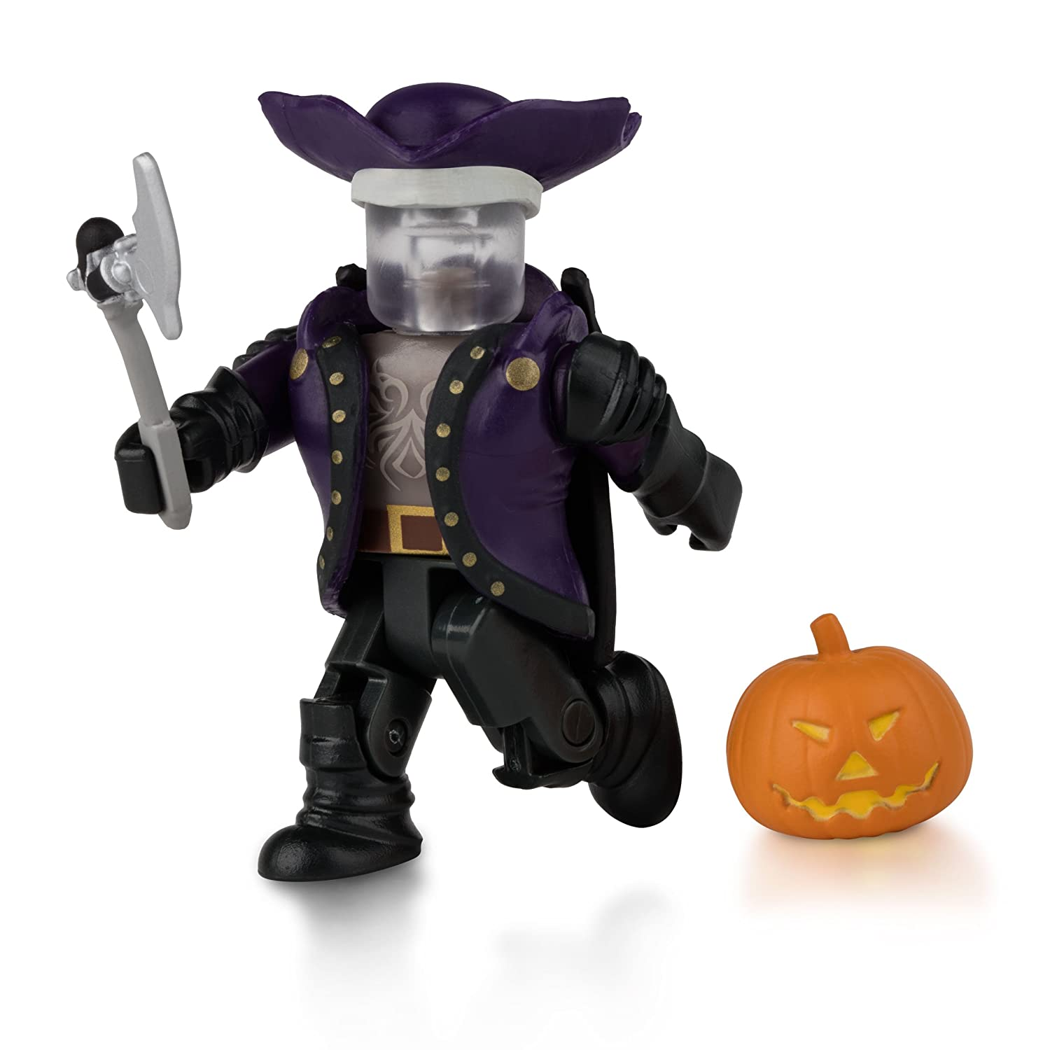 Roblox Headless Horseman Head Id Roblox Headless Horseman Figure Pack Amazoncouk Toys Games