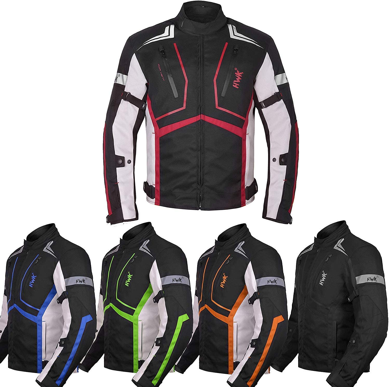 HWK Textile Motorbike All-Weather Jacket