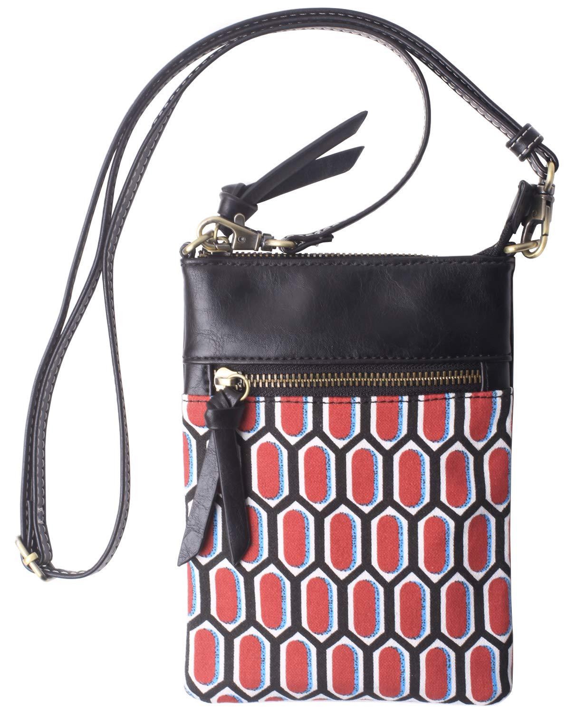 Original-Womens-Small-Crossbody-Bag-Vegan-Leather-Cell-Phone-Purse-Holder-Wallet-Functional-Multi-Zip-Pocket-For-Women