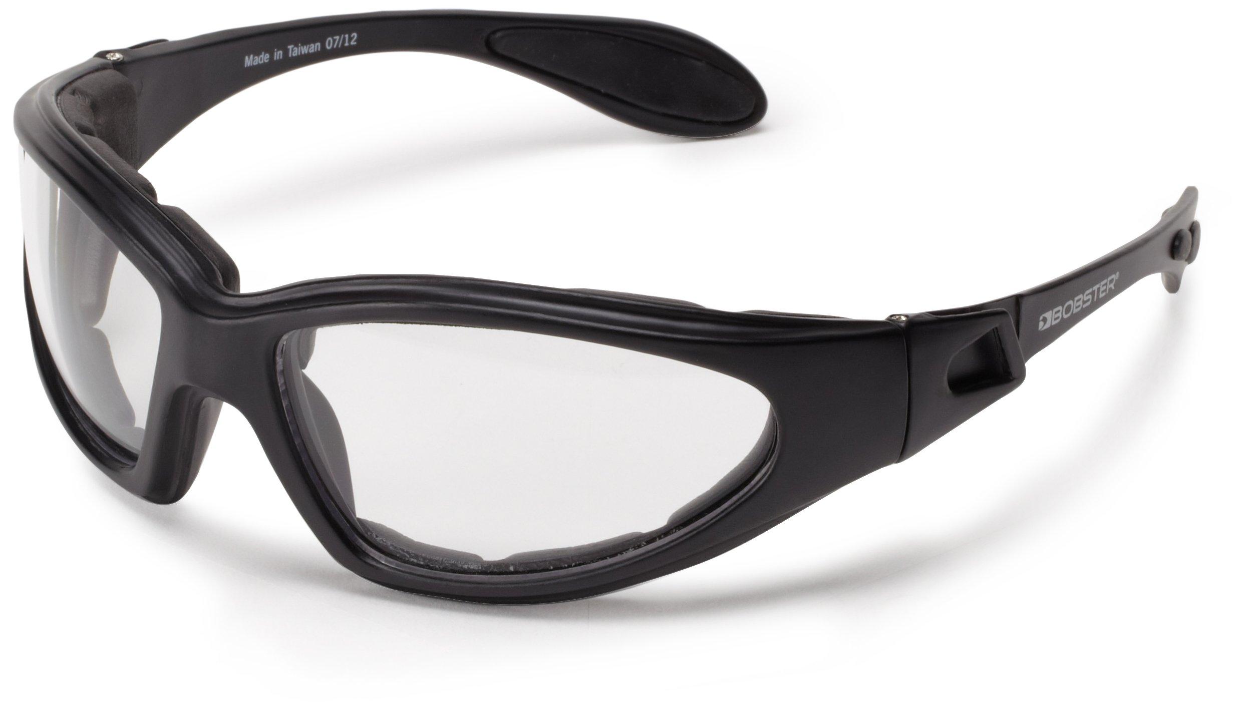 Bobster GXR Sport Sunglasses,Black Frame/Clear Lens,one size by Bobster (Image #2)