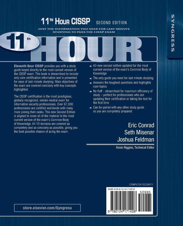 eric conrad cissp 11th hour book torrent - Darin Smalls