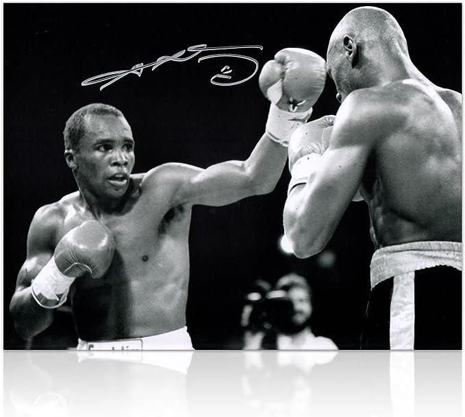 Sugar Ray Leonard Boxeo Firmado Foto: sorpresa de la Década ...