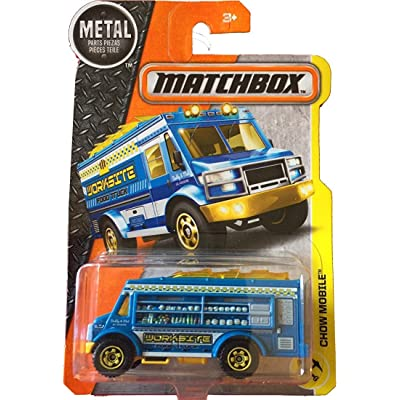 Matchbox 2020 Chow Mobile (Food Truck) 53/125, Blue: Toys & Games