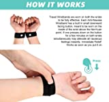 Motion Sickness Wristbands, 4 Travel Wrist