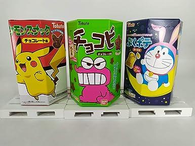 3 UNID x Galletas Tohato Doraemon Puku sabor a Queso + Pokemon ...