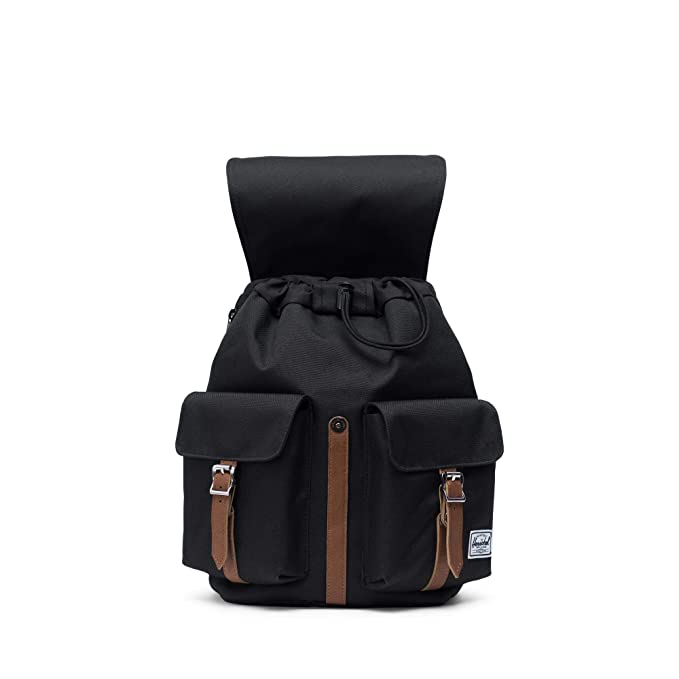 Amazon.com | Herschel Dawson Womens Backpack-Black/Tan Synthentic | Casual Daypacks