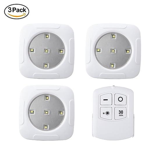 3 unidades grifo luces LED luces funciona con pilas con ...