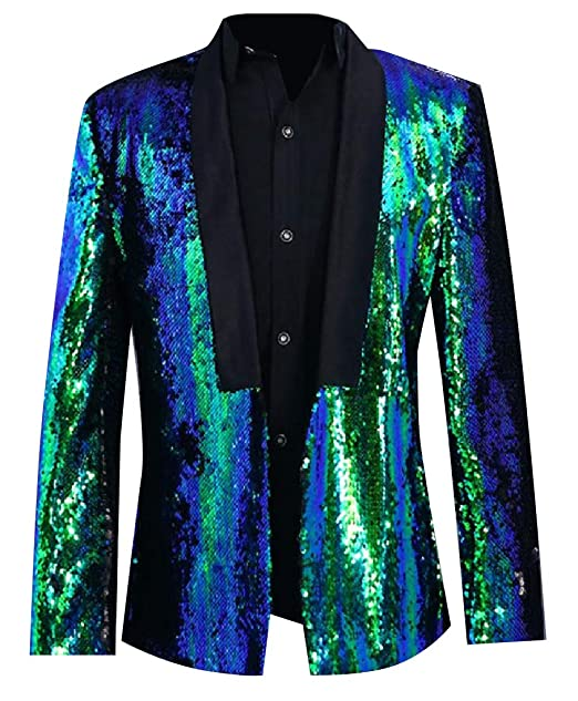 Amazon.com: Tootless-Men Sparkle Shawl - Traje de vestir ...
