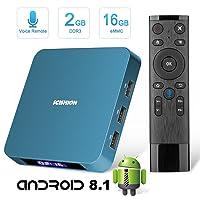 Amazon.com deals on Tishow Smart Internet TV Box 8.1 with 2GB RAM, 16GB ROM