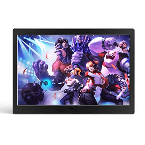 7 Pulgadas Monitor Portátil HDR UPERFECT Monitor IPS para Juegos Dual Mini HDMI Resolución 1280 ×