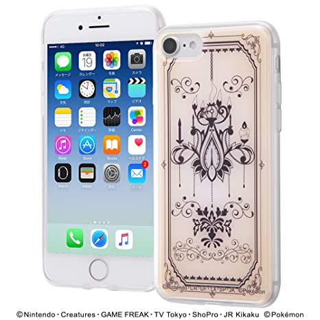 84d19a0ec3 Amazon | iPhone 7 ケース ポケットモンスター/TPUケース+背面パネル ...