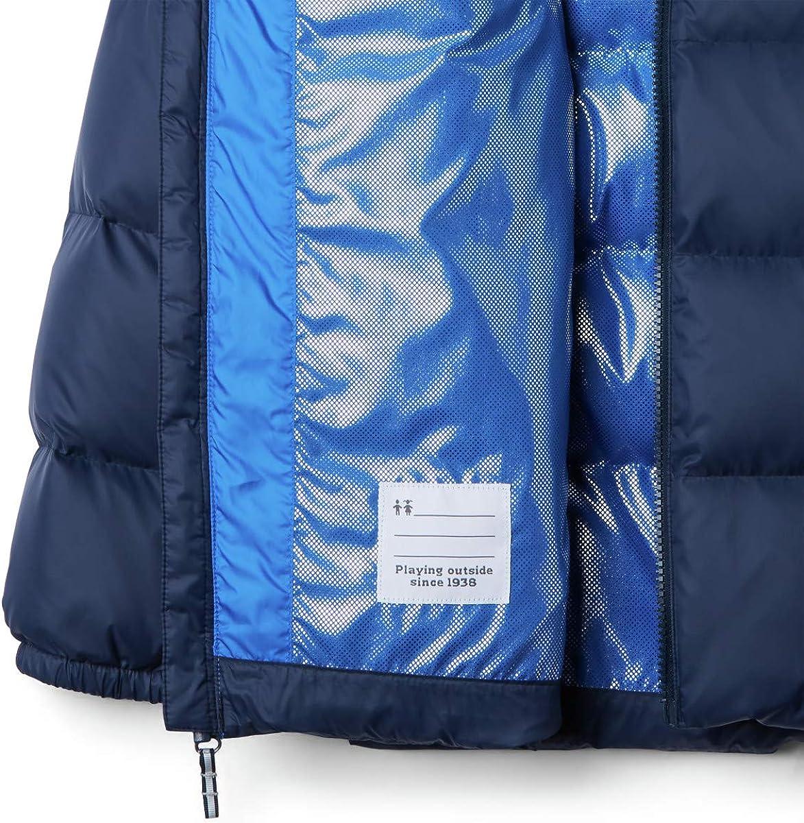 Water repellent Columbia Boy/'s Centennial Creek Down Puffer Winter Jacket