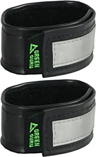 product image for Green Guru Gear Recycled Bicycle Tube Reflective Pant Leg Straps