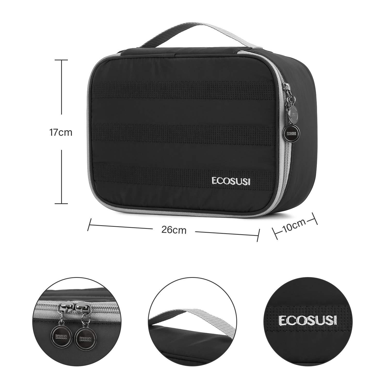 Amazon.com: BAGSMART - Bolsa de cosméticos para mujer, talla ...