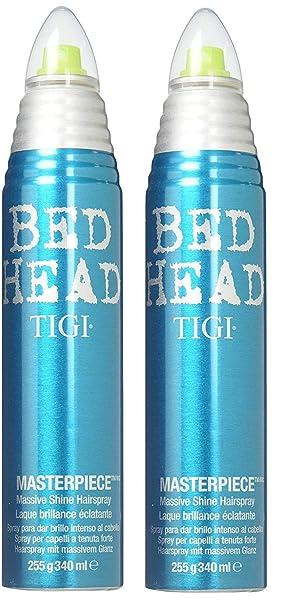 Amazon.com   Tigi Bed Head Masterpiece Massive Shine Hairspray - 9.5 Oz (2  PACK)   Hair Sprays   Beauty 382559a7a8f0