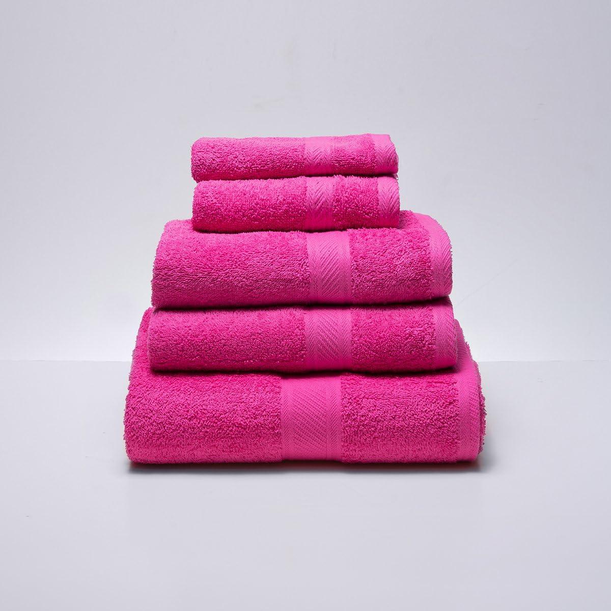 Sancarlos Juego de 3 toallas YANAI 100/% Algod/ón Color Blanco