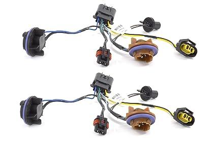 amazon com oem new head light socket wiring harness front right rh amazon com GM Trailer Wiring Harness GM Wiring Harness Diagram