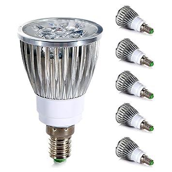 LED Leuchtmittel Reflektor R50 PAR16 4W = 35W E27 warmweiß 3000K flood 38°