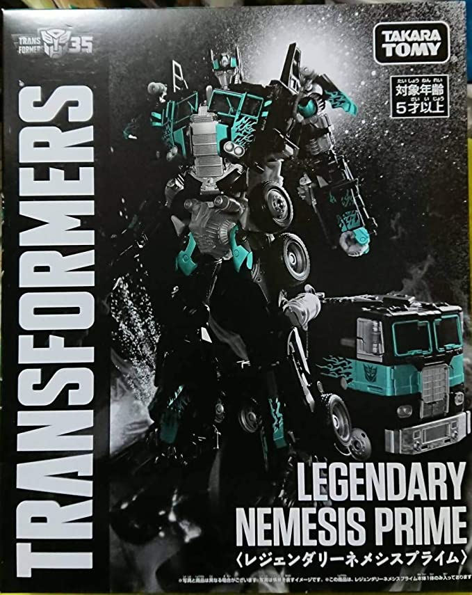 Takaratomy Legendary Nemesis Prime Transformers Bumblebee: Amazon ...