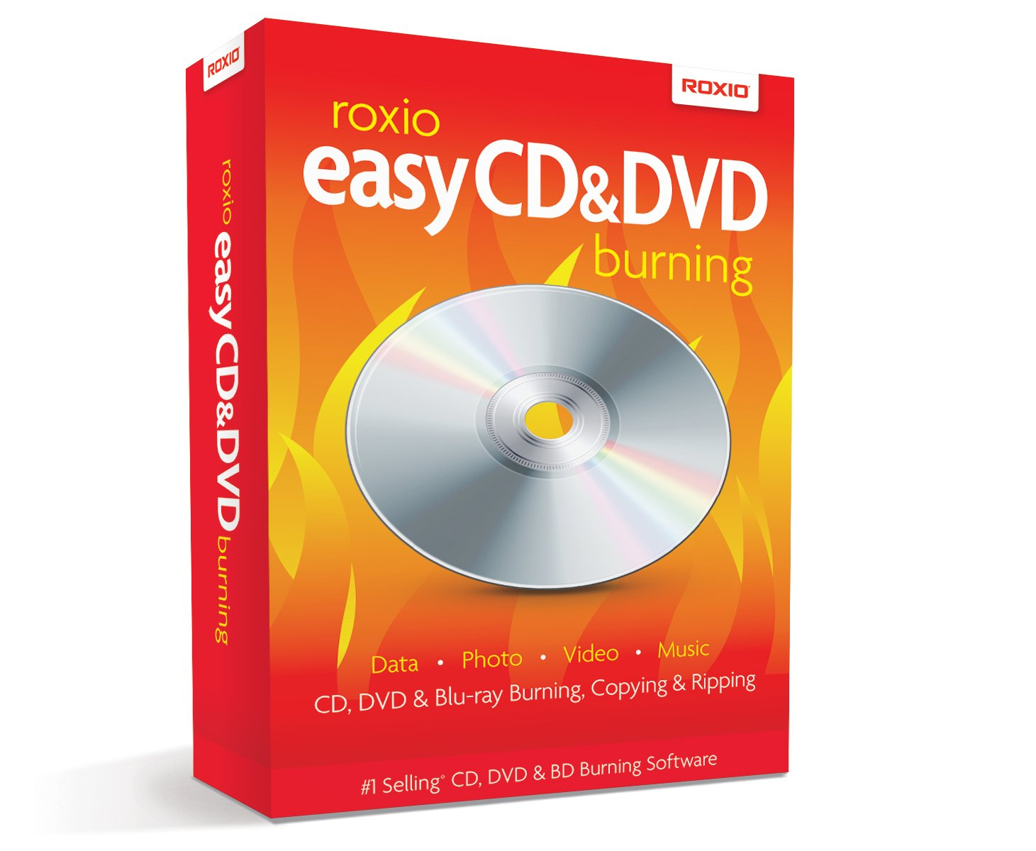 Roxio Easy CD and DVD Burning [PC Disc] by ROXIO