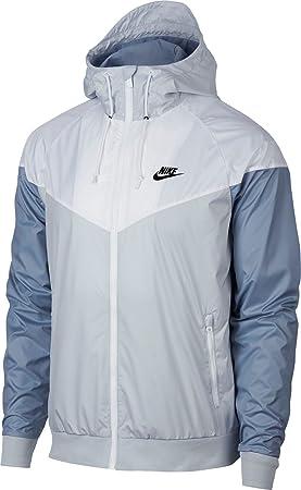 Nike para Hombre Chaqueta con Capucha Chaqueta de chándal (Pure ...