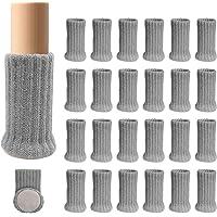 Ezprotekt 24 stuks stoel been sokken hoge elastische vloer beschermers niet slipstoel been voeten sokken dekt meubels…