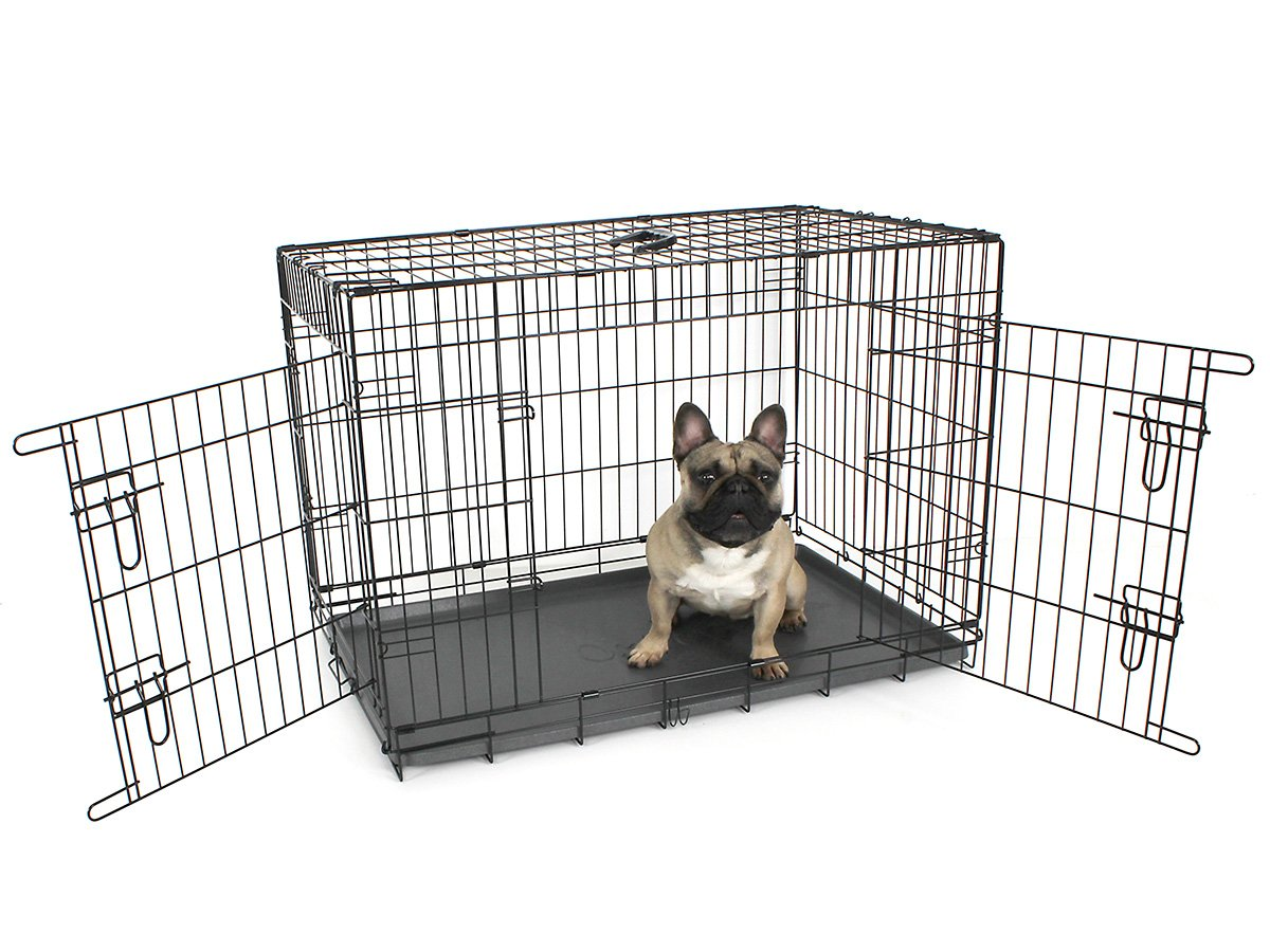 Omlet Fido Classic 36'' Premium Two Door Folding Dog and Puppy Crate