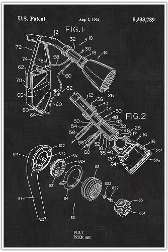 Amazon plumbing shower head blueprint patent patent poster plumbing shower head blueprint patent patent poster blueprint poster art malvernweather Image collections