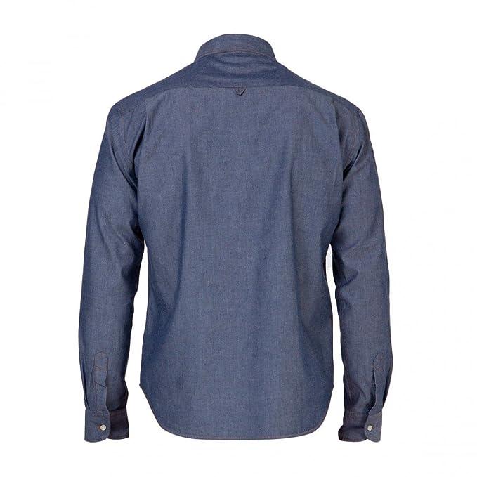 Loreak Mendian Camisa Maga Larga Arkoll Mino Blue - Talla XXL: Amazon.es: Ropa y accesorios