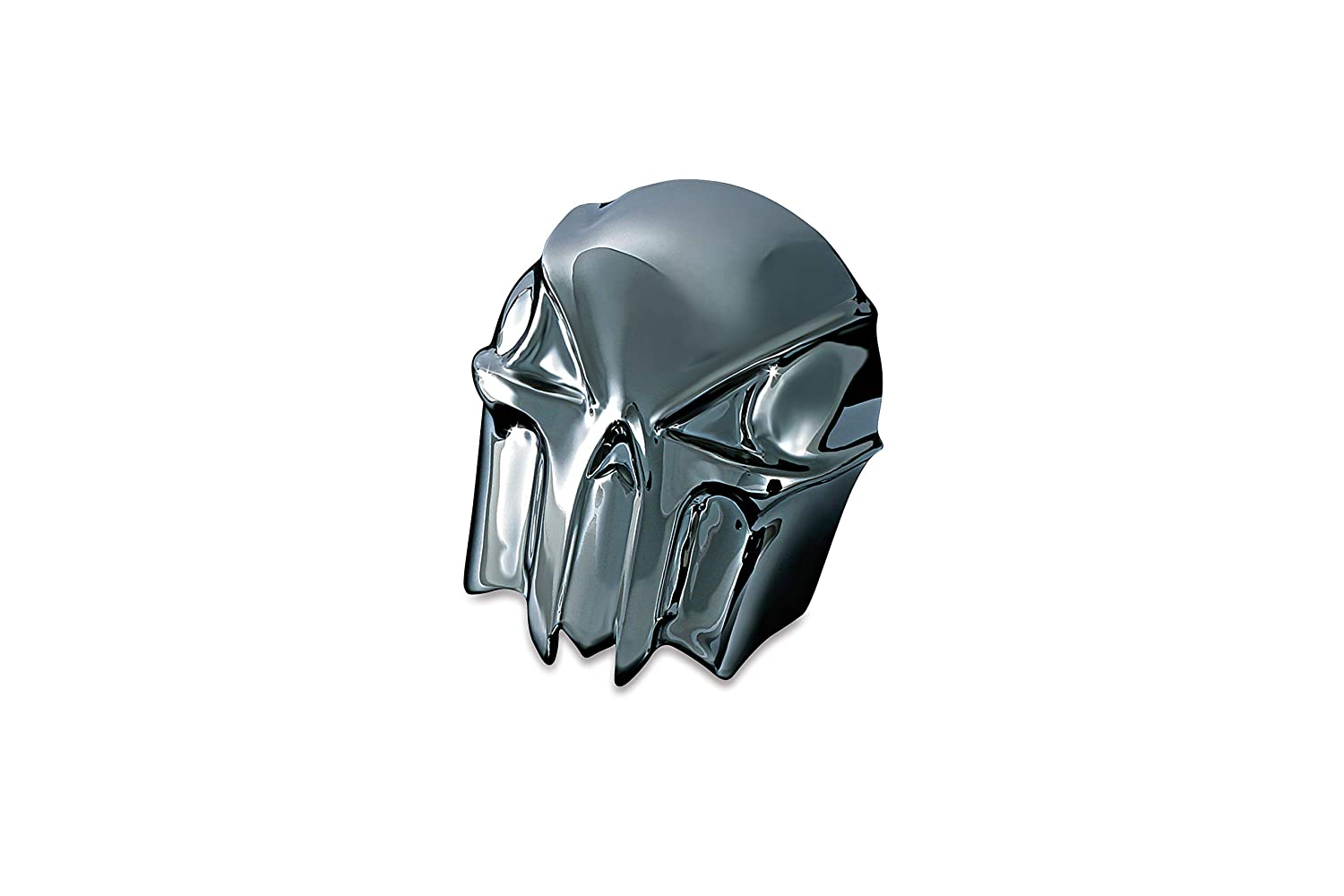 Kuryakyn 7741 Black//Chrome Skull Horn Cover