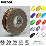 Darcos 3Dプリンター用 フィラメント PLA 材料 1Kg Makerbot/Reprap / UP Plus 3Dプリンター対応 1.75mm径!17色選択可! (ブラウン)
