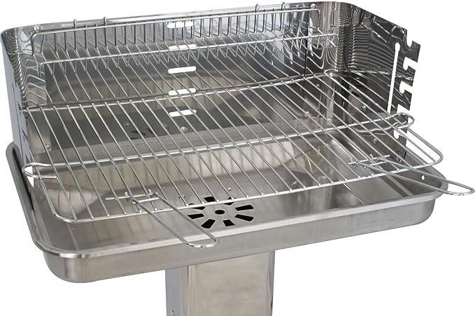 Barbecue Colonne Grill Surface de la 53 X 34 cm Kynast Famille Star