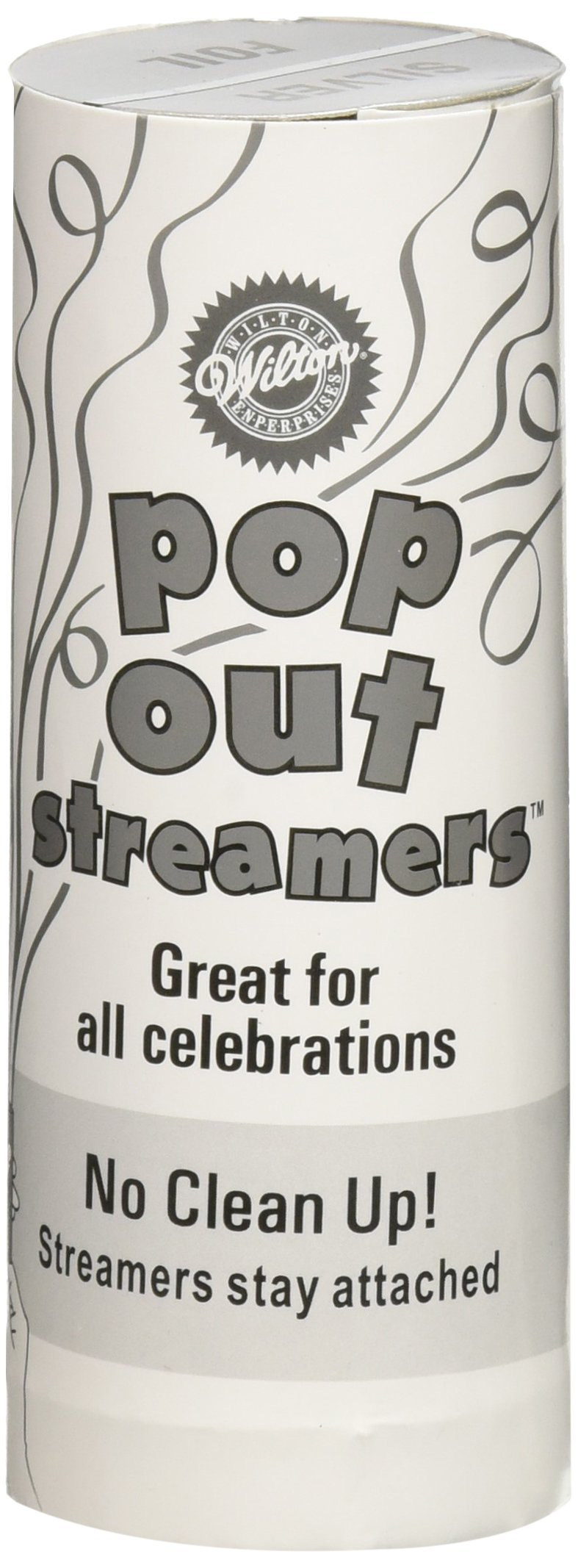 Wilton 1006-932 Pop Out Streamers, 14 pack by Simplicity
